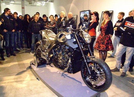 Yamaha VMax Hyper Modified, la moto custom made in Italy - Foto 13 di 19