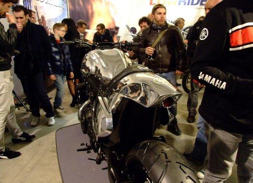 Yamaha VMax Hyper Modified, la moto custom made in Italy - Foto 10 di 19