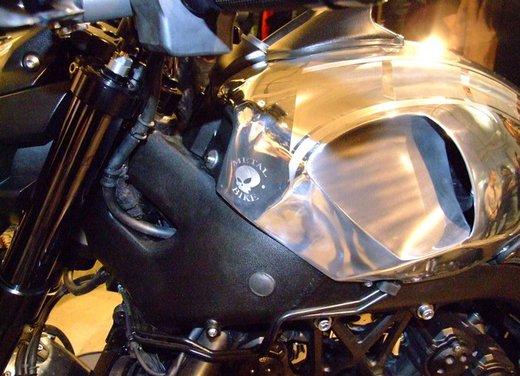 Yamaha VMax Hyper Modified, la moto custom made in Italy - Foto 7 di 19