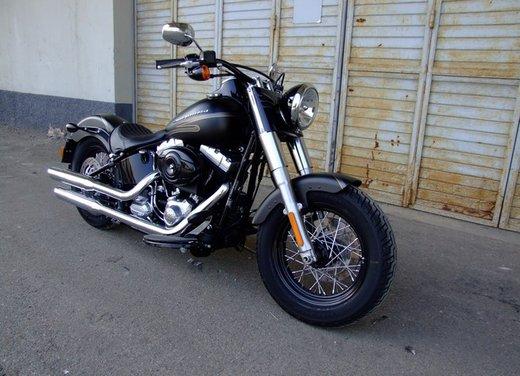 Harley-Davidson Softail Slim, la prova su strada