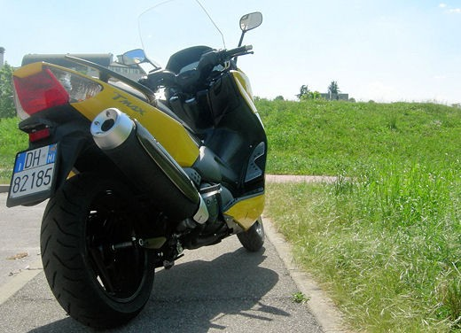 Yamaha T-Max 500 – Long Test Ride - Foto 9 di 25