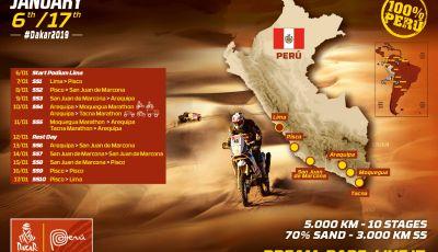 Dakar 2019 date, tappe, percorso e concorrenti