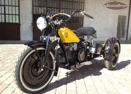 Moto Guzzi Ercole 500 Rusty by Dromo Bike