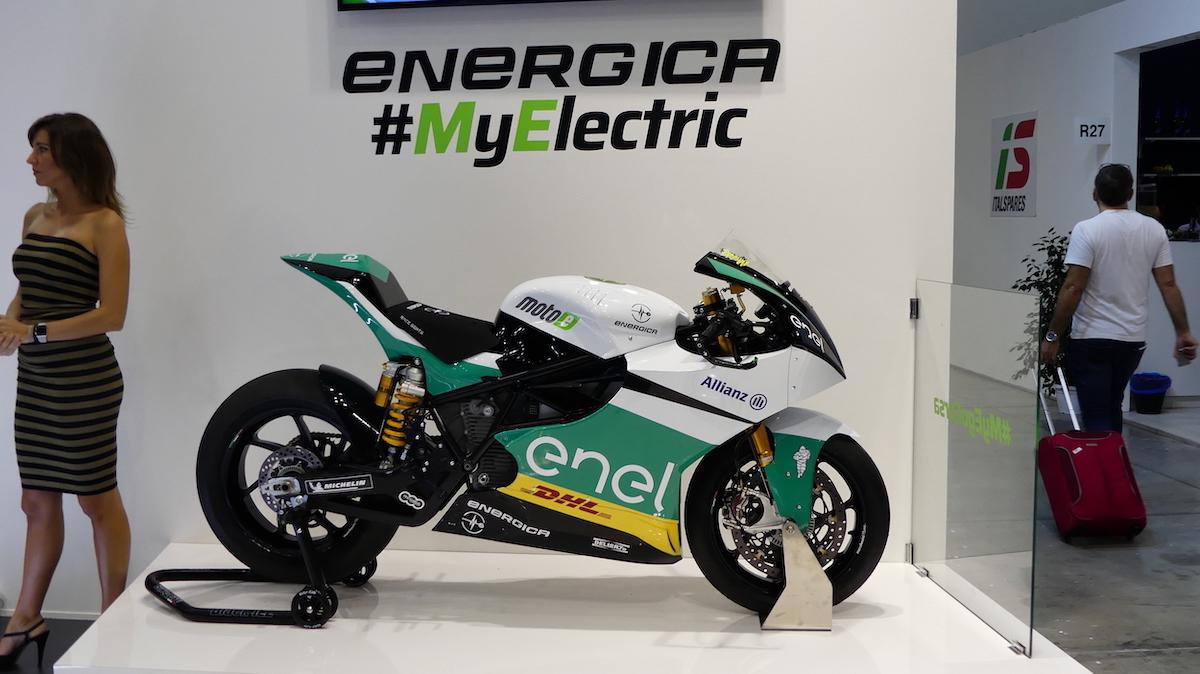 Le novità di Energica con Samsung ad EICMA 2018 - Foto 2 di 13