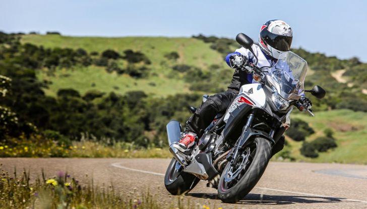 Test Honda CB 500X: divertimento e facilità immediata! - Foto 9 di 41