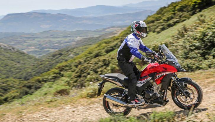 Test Honda CB 500X: divertimento e facilità immediata! - Foto 40 di 41