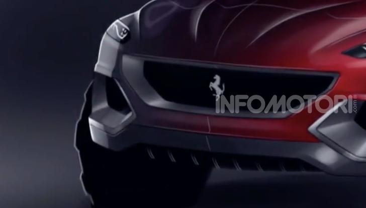 Ferrari Purosangue 2020: Il primo SUV del Cavallino - Foto 10 di 12