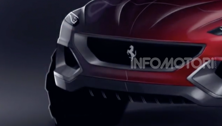 Ferrari Purosangue 2020: Il primo SUV del Cavallino - Foto 6 di 8