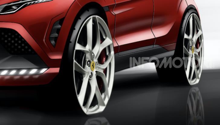 Ferrari Purosangue 2020: Il primo SUV del Cavallino - Foto 7 di 8