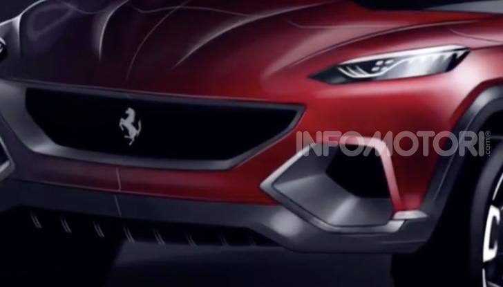 Ferrari Purosangue 2020: Il primo SUV del Cavallino - Foto 8 di 8
