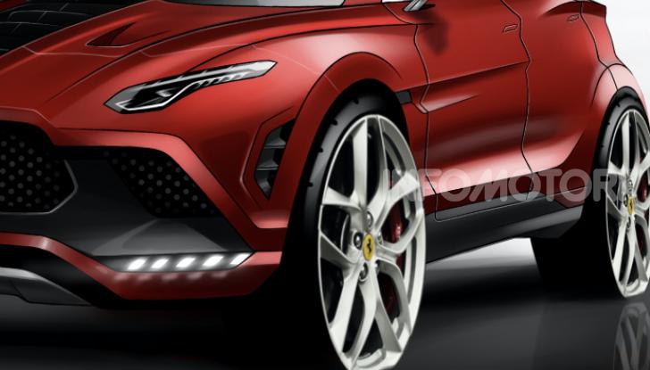 Ferrari Purosangue 2020: Il primo SUV del Cavallino - Foto 9 di 12