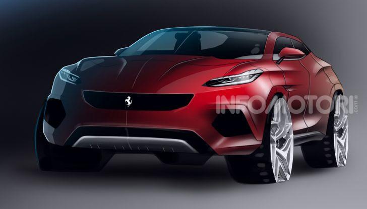 Ferrari Purosangue 2020: Il primo SUV del Cavallino - Foto 7 di 12