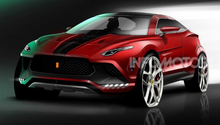 Ferrari Purosangue 2020: Il primo SUV del Cavallino - Foto 2 di 8