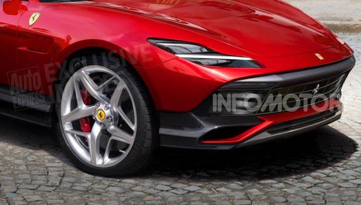 Ferrari Purosangue 2020: Il primo SUV del Cavallino - Foto 3 di 12