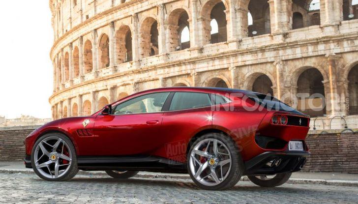 Ferrari Purosangue 2020: Il primo SUV del Cavallino - Foto 2 di 12