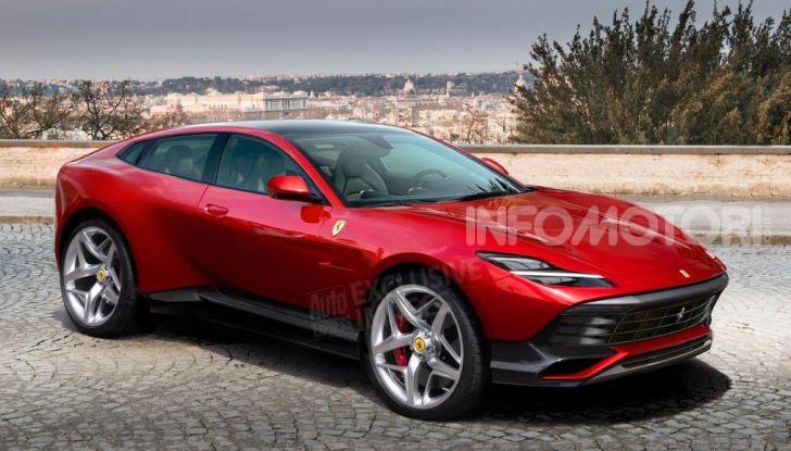 Ferrari Purosangue 2020: Il primo SUV del Cavallino - Foto 1 di 12