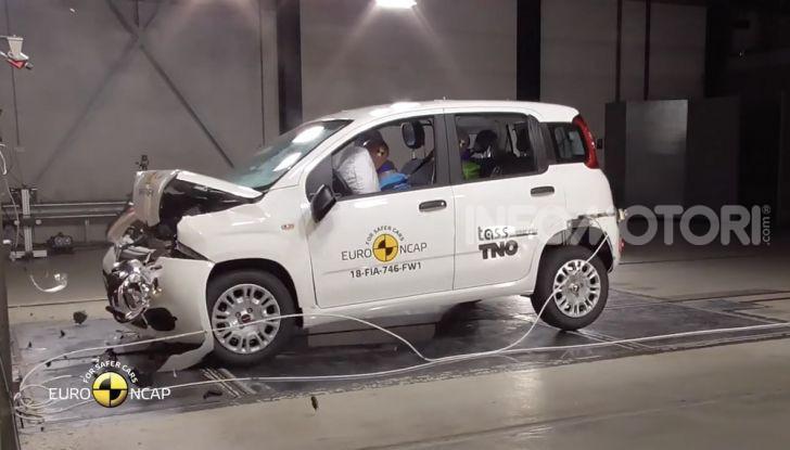 Zero stelle EuroNCAP per Fiat Panda, una soltanto per Jeep Wrangler - Foto 13 di 22