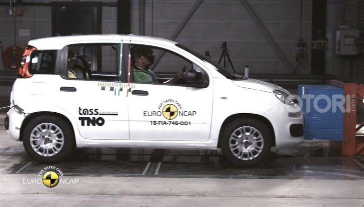Zero stelle EuroNCAP per Fiat Panda, una soltanto per Jeep Wrangler - Foto 20 di 22