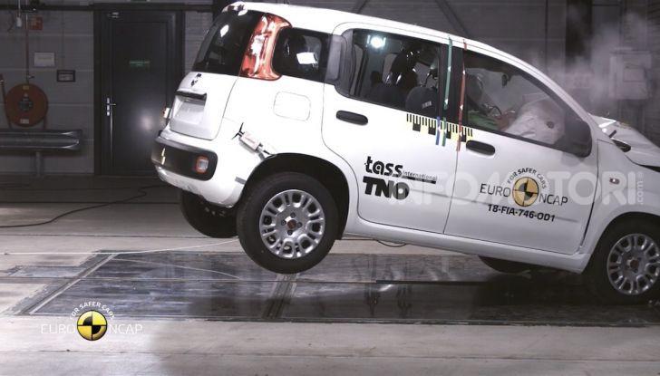 Zero stelle EuroNCAP per Fiat Panda, una soltanto per Jeep Wrangler - Foto 18 di 22