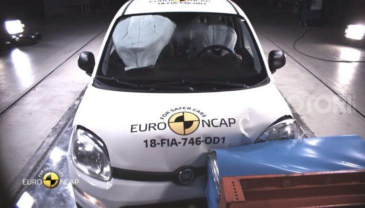 Zero stelle EuroNCAP per Fiat Panda, una soltanto per Jeep Wrangler - Foto 17 di 22
