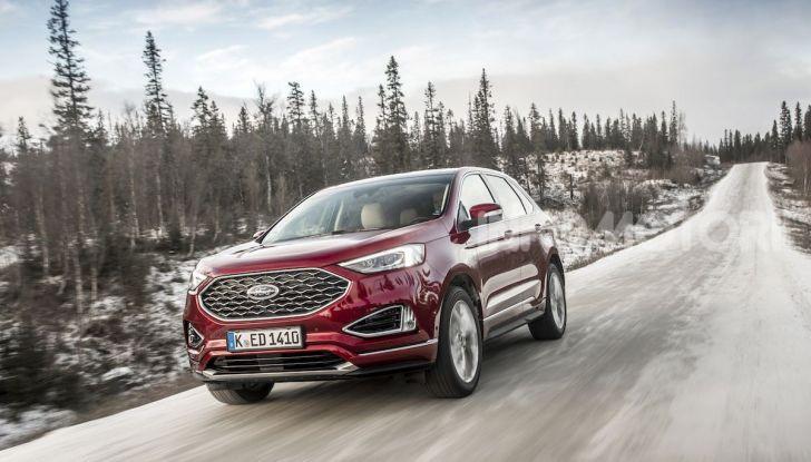 Nuova Ford Edge 2019: dinamica, spaziosa e con nuove dotazioni tecnologiche - Foto 4 di 33