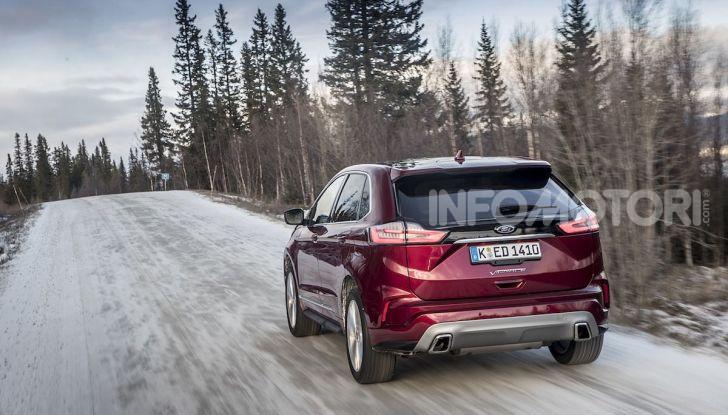 Nuova Ford Edge 2019: dinamica, spaziosa e con nuove dotazioni tecnologiche - Foto 14 di 33