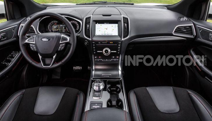 Nuova Ford Edge 2019: dinamica, spaziosa e con nuove dotazioni tecnologiche - Foto 6 di 33