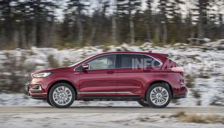 Nuova Ford Edge 2019: dinamica, spaziosa e con nuove dotazioni tecnologiche - Foto 17 di 33