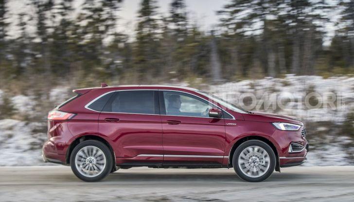 Nuova Ford Edge 2019: dinamica, spaziosa e con nuove dotazioni tecnologiche - Foto 18 di 33