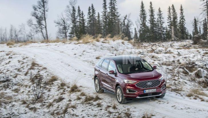 Nuova Ford Edge 2019: dinamica, spaziosa e con nuove dotazioni tecnologiche - Foto 19 di 33