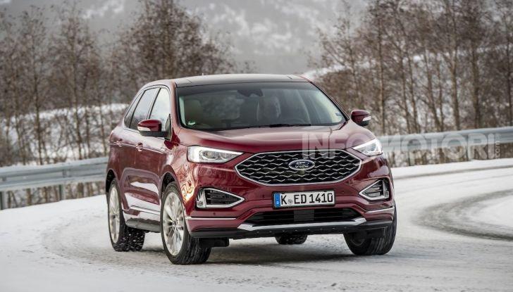 Nuova Ford Edge 2019: dinamica, spaziosa e con nuove dotazioni tecnologiche - Foto 20 di 33