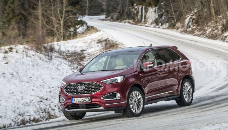 Nuova Ford Edge 2019: dinamica, spaziosa e con nuove dotazioni tecnologiche - Foto 21 di 33