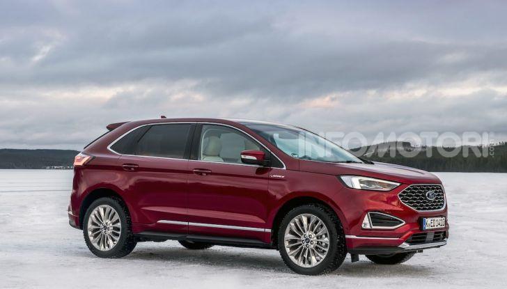 Nuova Ford Edge 2019: dinamica, spaziosa e con nuove dotazioni tecnologiche - Foto 22 di 33