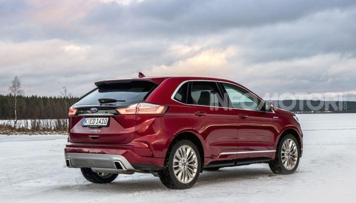 Nuova Ford Edge 2019: dinamica, spaziosa e con nuove dotazioni tecnologiche - Foto 23 di 33