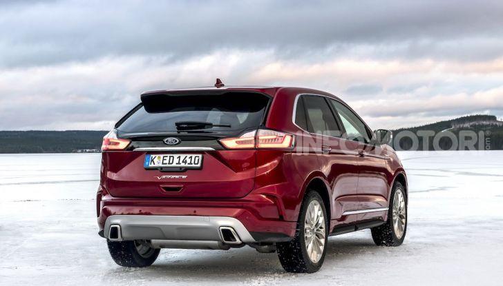Nuova Ford Edge 2019: dinamica, spaziosa e con nuove dotazioni tecnologiche - Foto 24 di 33