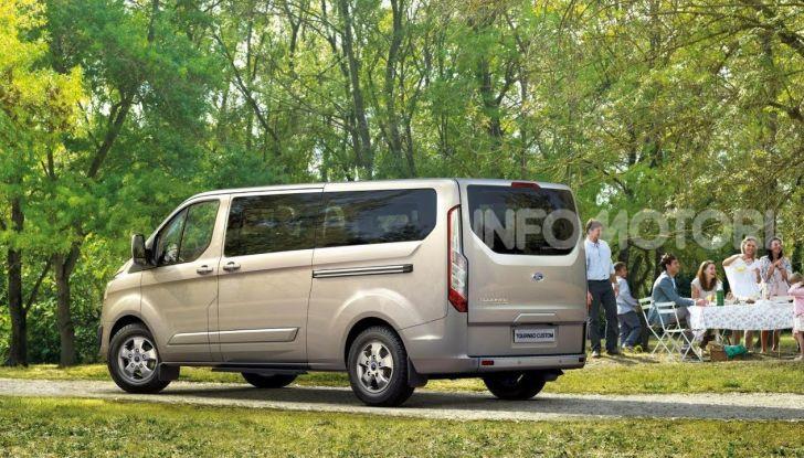 Ford Transit Custom Plug-In Hybrid, test a Colonia per migliorare l'aria - Foto 9 di 9