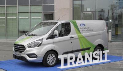 Ford Transit Custom Plug-In Hybrid, test a Colonia per migliorare l'aria