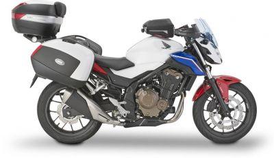 Givi presenta il set di accessori per Honda CB500F: il cupolino si illumina