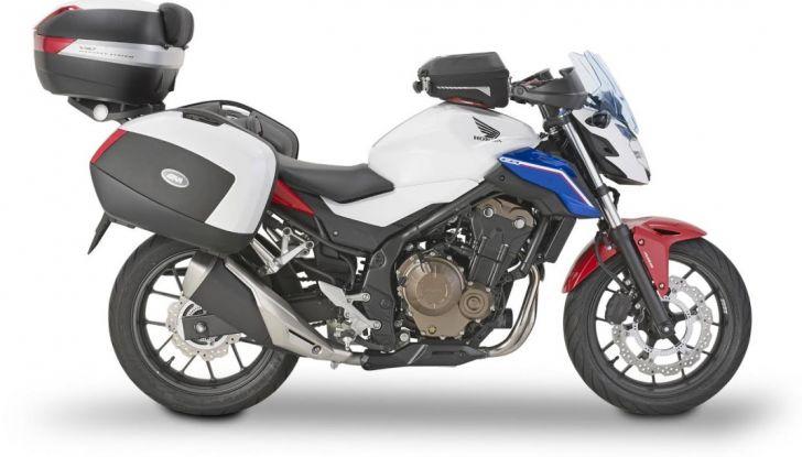 Givi presenta il set di accessori per Honda CB500F: il cupolino si illumina - Foto 1 di 5