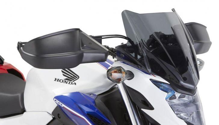 Givi presenta il set di accessori per Honda CB500F: il cupolino si illumina - Foto 5 di 5