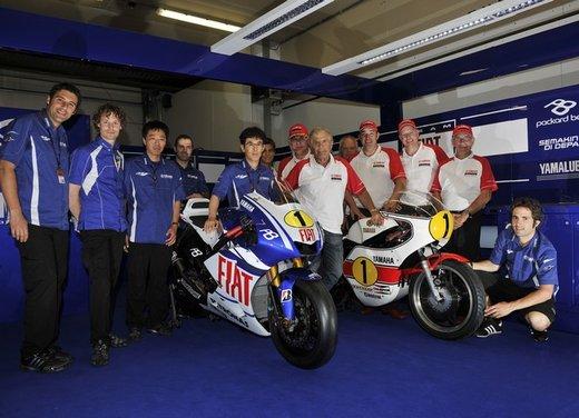 """Yamaha festeggia i suoi 50 anni nei GP alla """"200 Miglia di Imola Revival"""" - Foto 19 di 27"""