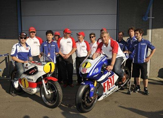 """Yamaha festeggia i suoi 50 anni nei GP alla """"200 Miglia di Imola Revival"""" - Foto 24 di 27"""