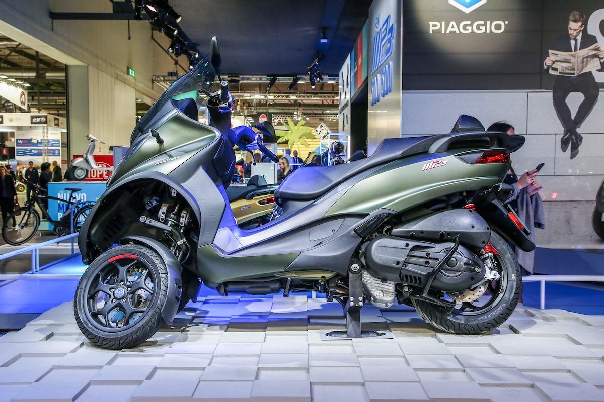 EICMA 2018: Le novità di Aprilia, Moto Guzzi, Piaggio e Vespa - Foto 14 di 20