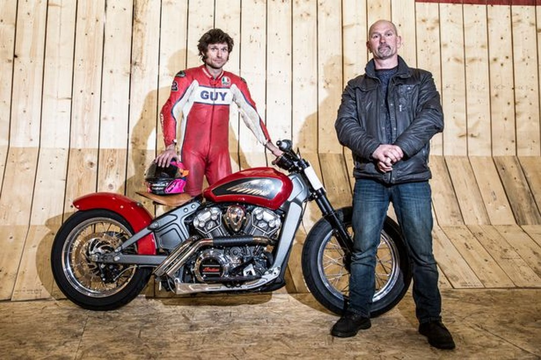 Guy Martin batte il record di velocità al Wall of Death 2016 - Foto 7 di 2e611477f9d
