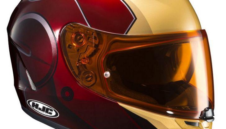 HJC Ironman, Capitan America e The Punisher: caschi Marvel! - Foto 10 di 16