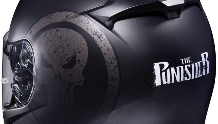 HJC Ironman, Capitan America e The Punisher: caschi Marvel! - Foto 4 di 16