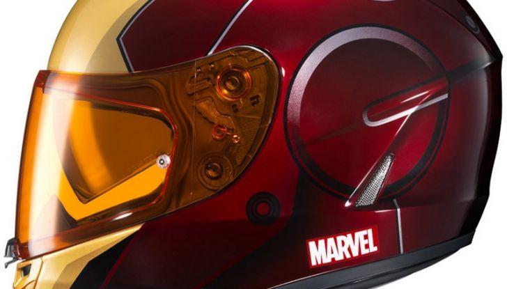 HJC Ironman, Capitan America e The Punisher: caschi Marvel! - Foto 1 di 16