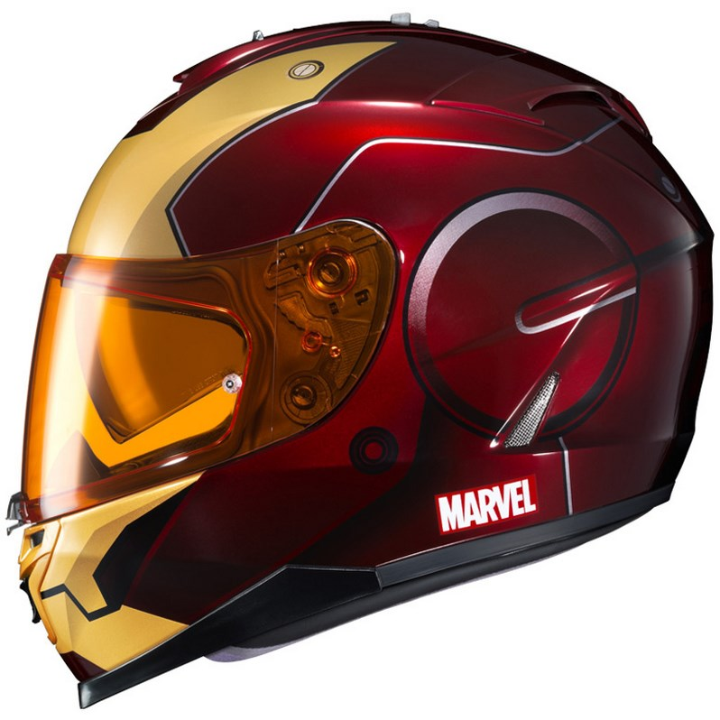 HJC Ironman, Capitan America e The Punisher: caschi Marvel!