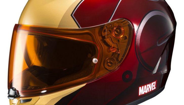 HJC Ironman, Capitan America e The Punisher: caschi Marvel! - Foto 13 di 16