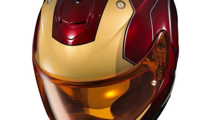HJC Ironman, Capitan America e The Punisher: caschi Marvel! - Foto 15 di 16
